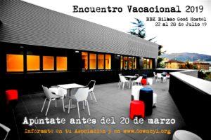 Encuentro Vacacional - Bilbao @ BBK - Bilbao Good Hostel   Bilbo   Euskadi   España